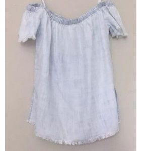 NWT Cloth & stone anthropologie chambray top
